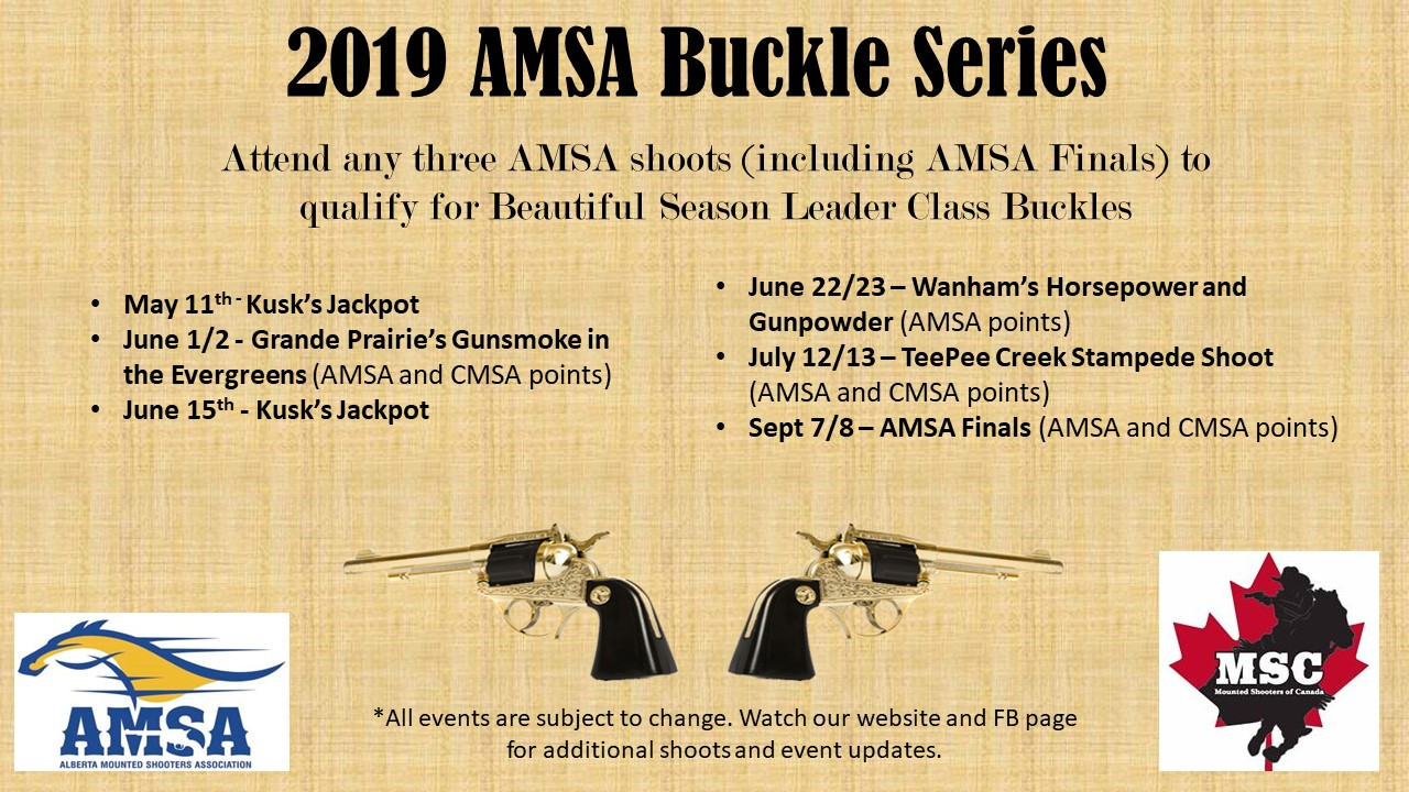 2019 AMSA Buckle Series